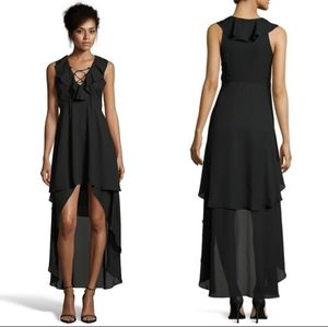 🆕 Romeo and Juliet Black High Low Dress